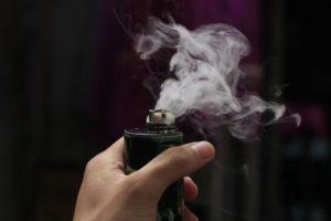 Vape-Rauch-Dampf