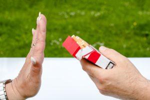 Vape oder Zigarette